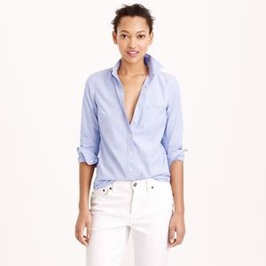 J. Crew | NWOT Boy Fit Everyday Cotton Shirt